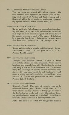 "<em>""Checklist.""</em>, 1912. Printed material. Brooklyn Museum, NYARC Documenting the Gilded Age phase 2. (Photo: New York Art Resources Consortium, N6260_F73_0059.jpg"