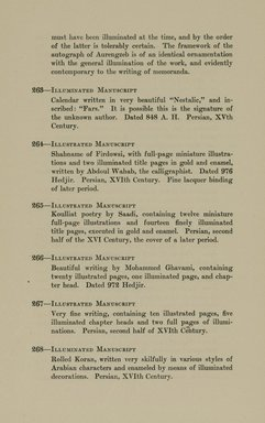 "<em>""Checklist.""</em>, 1912. Printed material. Brooklyn Museum, NYARC Documenting the Gilded Age phase 2. (Photo: New York Art Resources Consortium, N6260_F73_0061.jpg"