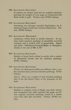 """<em>""""Checklist.""""</em>, 1912. Printed material. Brooklyn Museum, NYARC Documenting the Gilded Age phase 2. (Photo: New York Art Resources Consortium, N6260_F73_0062.jpg"""