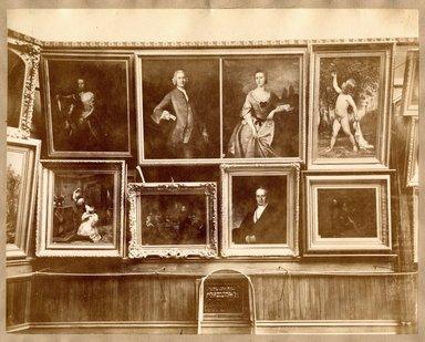 "<em>""Brooklyn Art Association, first chronological exhibition of American art [March 1872]. Installation view 01.""</em>, 1872. Bw photograph (original print), 9 x 7in (23 x 18cm). Brooklyn Museum, BAA1872. (N858_Un3_B78_1872b_002.jpg"