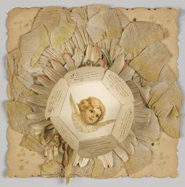 "<em>""Love petals (open)""</em>. Printed material. Brooklyn Museum. (Photo: Brooklyn Museum, NC1860_G849_Love_Petals_open_PS9.jpg"