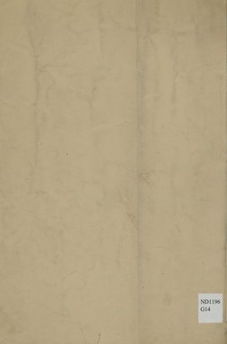 """<em>""""Back cover.""""</em>, 1866. Printed material. Brooklyn Museum, NYARC Documenting the Gilded Age phase 2. (Photo: New York Art Resources Consortium, ND1196_G14_0020.jpg"""