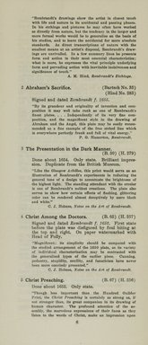 "<em>""Checklist""</em>, 1915. Printed material. Brooklyn Museum, NYARC Documenting the Gilded Age phase 2. (Photo: New York Art Resources Consortium, NE1410_K44d_0008.jpg"