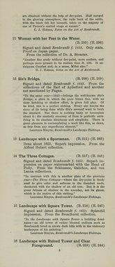 "<em>""Checklist""</em>, 1915. Printed material. Brooklyn Museum, NYARC Documenting the Gilded Age phase 2. (Photo: New York Art Resources Consortium, NE1410_K44d_0010.jpg"