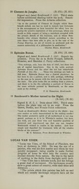 "<em>""Checklist""</em>, 1915. Printed material. Brooklyn Museum, NYARC Documenting the Gilded Age phase 2. (Photo: New York Art Resources Consortium, NE1410_K44d_0012.jpg"