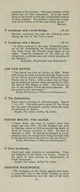 "<em>""Checklist""</em>, 1915. Printed material. Brooklyn Museum, NYARC Documenting the Gilded Age phase 2. (Photo: New York Art Resources Consortium, NE1410_K44d_0013.jpg"