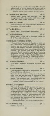 "<em>""Checklist""</em>, 1915. Printed material. Brooklyn Museum, NYARC Documenting the Gilded Age phase 2. (Photo: New York Art Resources Consortium, NE1410_K44d_0018.jpg"
