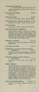 "<em>""Checklist""</em>, 1915. Printed material. Brooklyn Museum, NYARC Documenting the Gilded Age phase 2. (Photo: New York Art Resources Consortium, NE1410_K44d_0020.jpg"