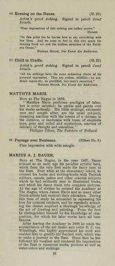 "<em>""Checklist""</em>, 1915. Printed material. Brooklyn Museum, NYARC Documenting the Gilded Age phase 2. (Photo: New York Art Resources Consortium, NE1410_K44d_0021.jpg"