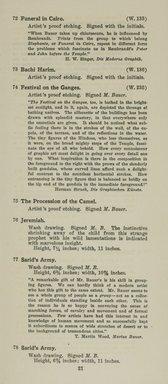 "<em>""Checklist""</em>, 1915. Printed material. Brooklyn Museum, NYARC Documenting the Gilded Age phase 2. (Photo: New York Art Resources Consortium, NE1410_K44d_0023.jpg"