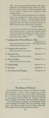 "<em>""Checklist""</em>, 1909. Printed material. Brooklyn Museum, NYARC Documenting the Gilded Age phase 2. (Photo: New York Art Resources Consortium, NE1410_K44et_0018.jpg"