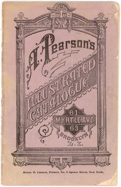 "<em>""Pearsons Catalog back cover""</em>. Printed material. Brooklyn Museum. (NK2265_Ap2_Pearsons_Catalog_cover.jpg"