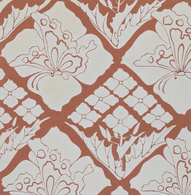 """<em>""""Textile designs from Classical patterns for dyeing, volume 1, Monyo no maki, detail.""""</em>. Printed material, 17 x 12 in (30.5 x 48 cm). Brooklyn Museum. (Photo: Brooklyn Museum, NK8884_K17h_Hana_Shishu_v01_page08-09_detail4_PS3.jpg"""