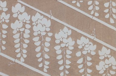 """<em>""""Textile designs from Classical patterns for dyeing, volume 1, Monyo no maki, detail.""""</em>. Printed material, 17 x 12 in (30.5 x 48 cm). Brooklyn Museum. (Photo: Brooklyn Museum, NK8884_K17h_Hana_Shishu_v01_page10-11_detail4_PS3.jpg"""