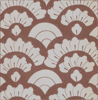 """<em>""""Textile designs from Classical patterns for dyeing, volume 1, Monyo no maki, detail.""""</em>. Printed material, 17 x 12 in (30.5 x 48 cm). Brooklyn Museum. (Photo: Brooklyn Museum, NK8884_K17h_Hana_Shishu_v01_page12-13_detail1_PS3.jpg"""