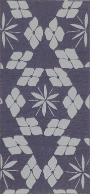 """<em>""""Textile designs from Classical patterns for dyeing, volume 1, Monyo no maki, detail.""""</em>. Printed material, 17 x 12 in (30.5 x 48 cm). Brooklyn Museum. (Photo: Brooklyn Museum, NK8884_K17h_Hana_Shishu_v01_page12-13_detail2_PS3.jpg"""