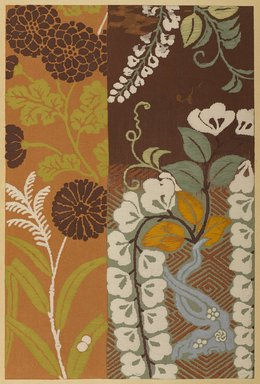 "<em>""Floral design.""</em>. Published material. Brooklyn Museum. (Photo: Brooklyn Museum, NK8984_An2_vol6_pl01_PS9.jpg"