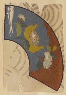 "<em>""Fan-shaped floral design.""</em>. Published material. Brooklyn Museum. (Photo: Brooklyn Museum, NK8984_An2_vol6_pl03_PS9.jpg"