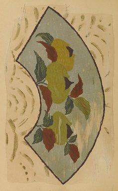 "<em>""Fan-shaped floral design.""</em>. Published material. Brooklyn Museum. (Photo: Brooklyn Museum, NK8984_An2_vol6_pl05_PS9.jpg"
