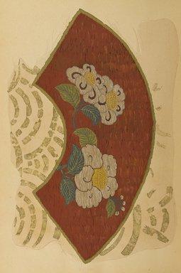 "<em>""Fan-shaped floral design.""</em>. Published material. Brooklyn Museum. (Photo: Brooklyn Museum, NK8984_An2_vol6_pl06_PS9.jpg"