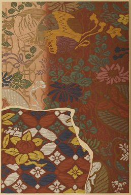 "<em>""Floral design.""</em>. Published material. Brooklyn Museum. (Photo: Brooklyn Museum, NK8984_An2_vol6_pl07_PS9.jpg"
