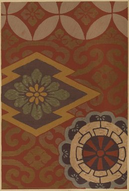 """<em>""""Geometric and floral design.""""</em>. Published material. Brooklyn Museum. (Photo: Brooklyn Museum, NK8984_An2_vol6_pl12_PS9.jpg"""