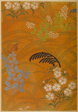 """<em>""""Floral design with grasses.""""</em>. Published material. Brooklyn Museum. (Photo: Brooklyn Museum, NK8984_An2_vol6_pl14_PS9.jpg"""