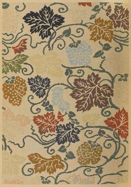 "<em>""Leaf and vine design.""</em>. Published material. Brooklyn Museum. (Photo: Brooklyn Museum, NK8984_An2_vol6_pl15_PS9.jpg"