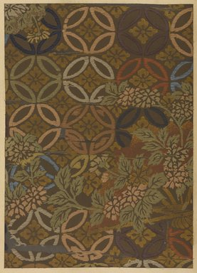 """<em>""""Floral and geometric design.""""</em>. Published material. Brooklyn Museum. (Photo: Brooklyn Museum, NK8984_An2_vol6_pl20_PS9.jpg"""