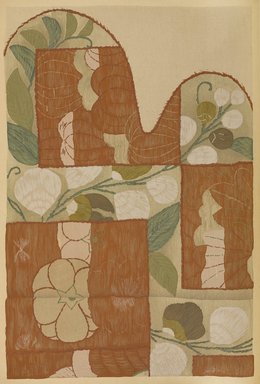 "<em>""Floral design with overlaid abstract panels.""</em>. Published material. Brooklyn Museum. (Photo: Brooklyn Museum, NK8984_An2_vol6_pl21_PS9.jpg"