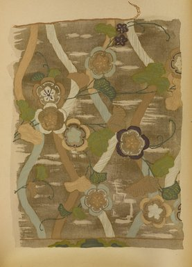 "<em>""Floral design on lattice.""</em>. Published material. Brooklyn Museum. (Photo: Brooklyn Museum, NK8984_An2_vol6_pl22_PS9.jpg"