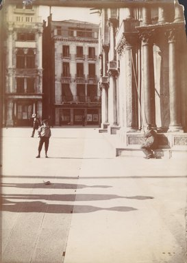 "<em>""S. Marco, Venice, Italy, 1901""</em>, 1901. Bw photographic print 5x7in, 5 x 7 in. Brooklyn Museum, Goodyear. (Photo: Brooklyn Museum, S03i0003v01.jpg"