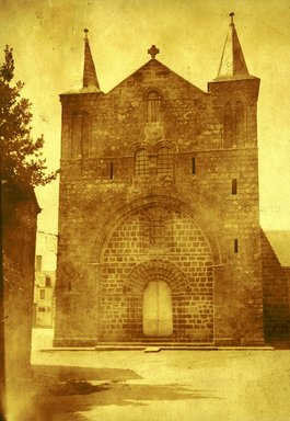 "<em>""Notre Dame, Pontorson, France, n.d.""</em>. Bw photographic print 5x7in, 5 x 7 in. Brooklyn Museum, Goodyear. (Photo: A. Kingsley Porter, S03i0006v01a.jpg"