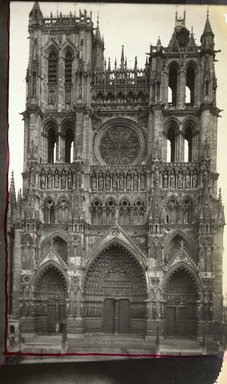 """<em>""""Cathedral, Amiens, France, 1903""""</em>, 1903. Bw photographic print 5x7in, 5 x 7 in. Brooklyn Museum, Goodyear. (Photo: Brooklyn Museum, S03i0715v01.jpg"""