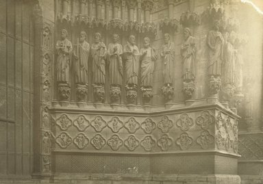 """<em>""""Cathedral, Amiens, France, 1903""""</em>, 1903. Bw photographic print 5x7in, 5 x 7 in. Brooklyn Museum, Goodyear. (Photo: Brooklyn Museum, S03i0720v01.jpg"""