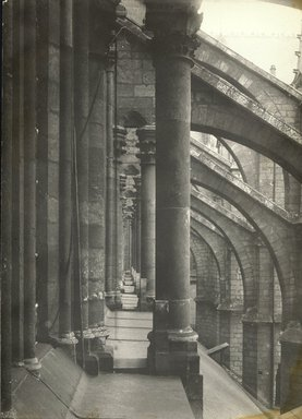 """<em>""""Cathedral, Amiens, France, 1903""""</em>, 1903. Bw photographic print 5x7in, 5 x 7 in. Brooklyn Museum, Goodyear. (Photo: Brooklyn Museum, S03i0727v01.jpg"""
