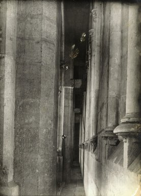 """<em>""""Cathedral, Amiens, France, 1903""""</em>, 1903. Bw photographic print 5x7in, 5 x 7 in. Brooklyn Museum, Goodyear. (Photo: Brooklyn Museum, S03i0744v01.jpg"""