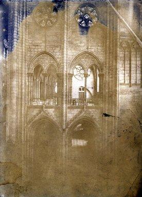 "<em>""Notre Dame, Paris, France, 1907""</em>, 1907. Bw photographic print 5x7in, 5 x 7 in. Brooklyn Museum, Goodyear. (Photo: Brooklyn Museum, S03i1019v01a.jpg"