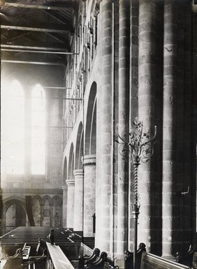 "<em>""St. John's, Chester, England, 1914""</em>, 1914. Bw photographic print 5x7in, 5 x 7 in. Brooklyn Museum, Goodyear. (Photo: Brooklyn Museum, S03i1138v01.jpg"