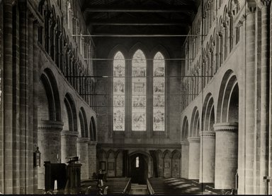 "<em>""St. John's, Chester, England, 1914""</em>, 1914. Bw photographic print 5x7in, 5 x 7 in. Brooklyn Museum, Goodyear. (Photo: Brooklyn Museum, S03i1140v01.jpg"
