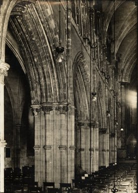 "<em>""Christ Church Cathedral, Dublin, Ireland, 1914""</em>, 1914. Bw photographic print 5x7in, 5 x 7 in. Brooklyn Museum, Goodyear. (Photo: Brooklyn Museum, S03i1151v01.jpg"