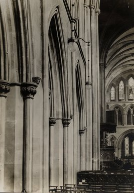 "<em>""St. Patrick's Cathedral, Dublin, Ireland, 1914""</em>, 1914. Bw photographic print. Brooklyn Museum, Goodyear. (Photo: Brooklyn Museum, S03i1158v01.jpg"