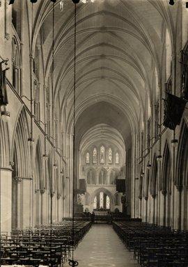 "<em>""St. Patrick's Cathedral, Dublin, Ireland, 1914""</em>, 1914. Bw photographic print 5x7in, 5 x 7 in. Brooklyn Museum, Goodyear. (Photo: Brooklyn Museum, S03i1159v01.jpg"