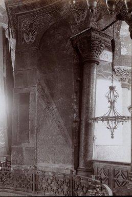 "<em>""St. Sophia, Istanbul, Turkey, 1914""</em>, 1914. Bw photographic print 5x7in, 5 x 7 in. Brooklyn Museum, Goodyear. (Photo: Brooklyn Museum, S03i1172v01.jpg"