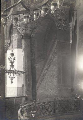 "<em>""St. Sophia, Istanbul, Turkey, 1914""</em>, 1914. Bw photographic print 5x7in, 5 x 7 in. Brooklyn Museum, Goodyear. (Photo: Brooklyn Museum, S03i1173v01.jpg"