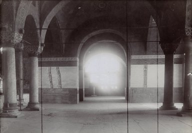 "<em>""St. Sophia, Istanbul, Turkey, 1914""</em>, 1914. Bw photographic print 5x7in, 5 x 7 in. Brooklyn Museum, Goodyear. (Photo: Brooklyn Museum, S03i1174v01.jpg"