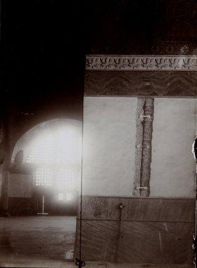"<em>""St. Sophia, Istanbul, Turkey, 1914""</em>, 1914. Bw photographic print 5x7in, 5 x 7 in. Brooklyn Museum, Goodyear. (Photo: Brooklyn Museum, S03i1175v01.jpg"