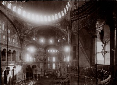 "<em>""St. Sophia, Istanbul, Turkey, 1914""</em>, 1914. Bw photographic print 5x7in, 5 x 7 in. Brooklyn Museum, Goodyear. (Photo: Brooklyn Museum, S03i1177v01.jpg"