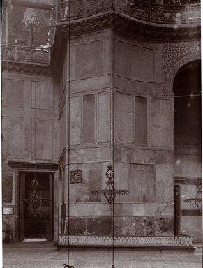 "<em>""St. Sophia, Istanbul, Turkey, 1914""</em>, 1914. Bw photographic print 5x7in, 5 x 7 in. Brooklyn Museum, Goodyear. (Photo: Brooklyn Museum, S03i1179v01.jpg"