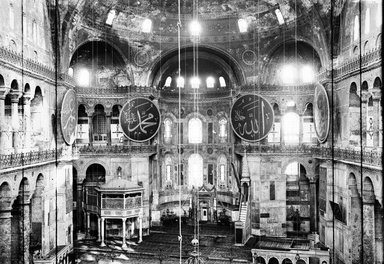 "<em>""St. Sophia, Istanbul, Turkey, 1914""</em>, 1914. Glass negative 5x7in, 5 x 7 in. Brooklyn Museum, Goodyear. (Photo: Brooklyn Museum, S03i1191n01a.jpg"